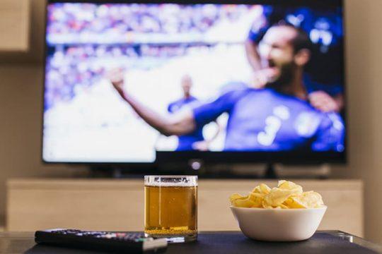 至福のサッカー観戦