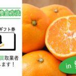 愛媛県でAmazonギフト券を換金
